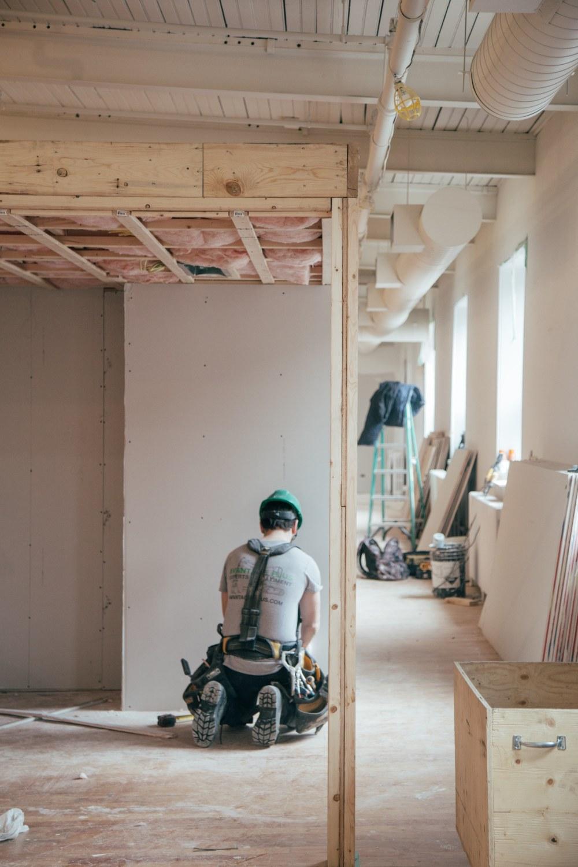 монтаж гипсокартона, подготовка стен к покраске, подготовка стен к отделке
