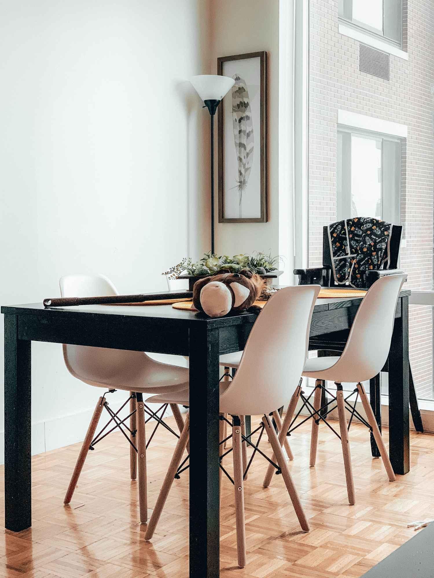 белая скандинавская столовая, для стен в скандинавской столовой, цвет для скандинавской столовой