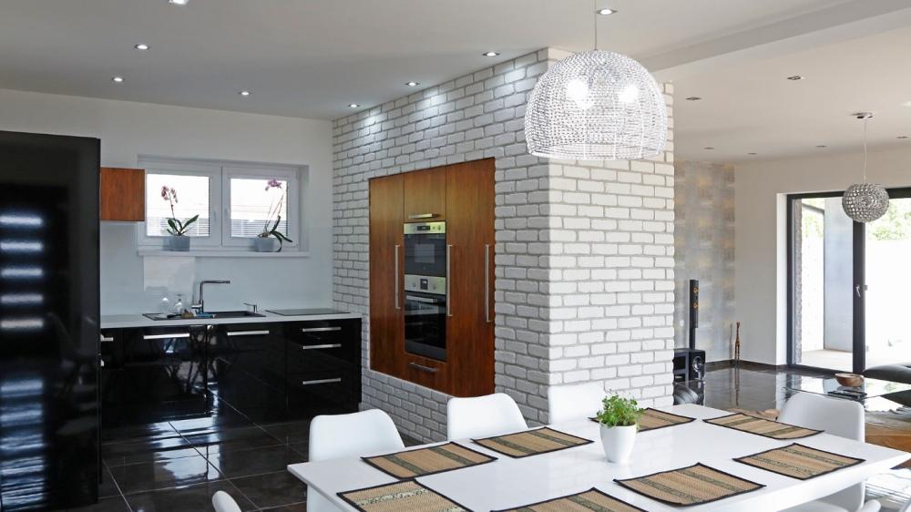 Kuchnia Z Cegłą Na ścianie Porady I Aranżacje Z