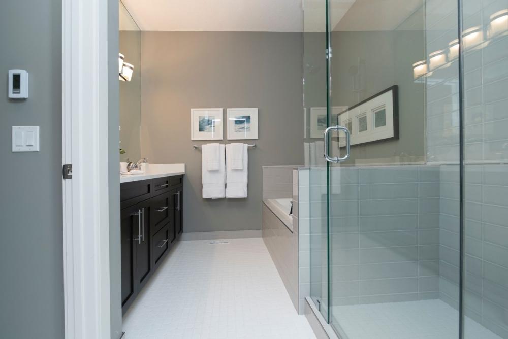 Co Zamiast Płytek W łazience 15 Pomysłów łazienka Bez