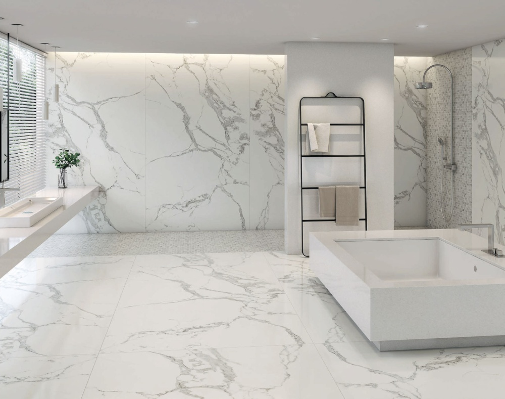 łazienka Marmur W Roli Głównej łazienka Z Marmurem
