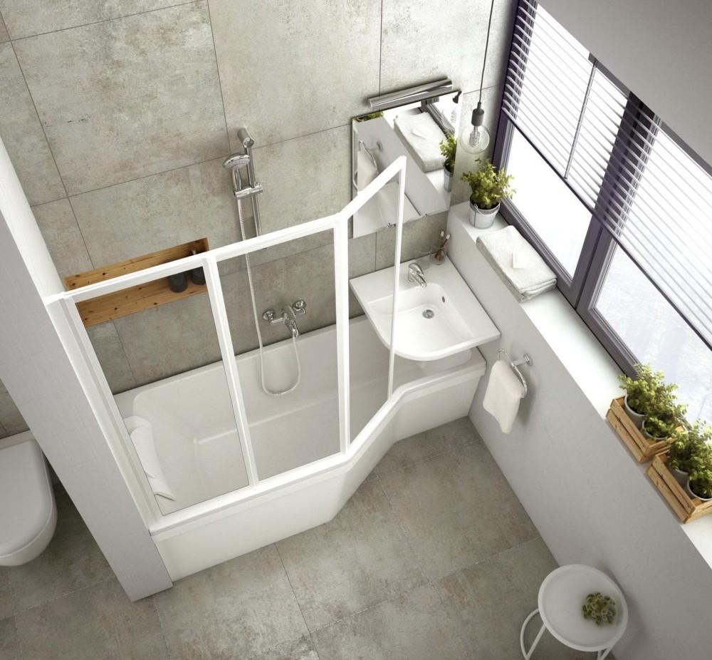 Mała łazienka Z Wanną Jaką Wannę Wybrać Do Małej łazienki