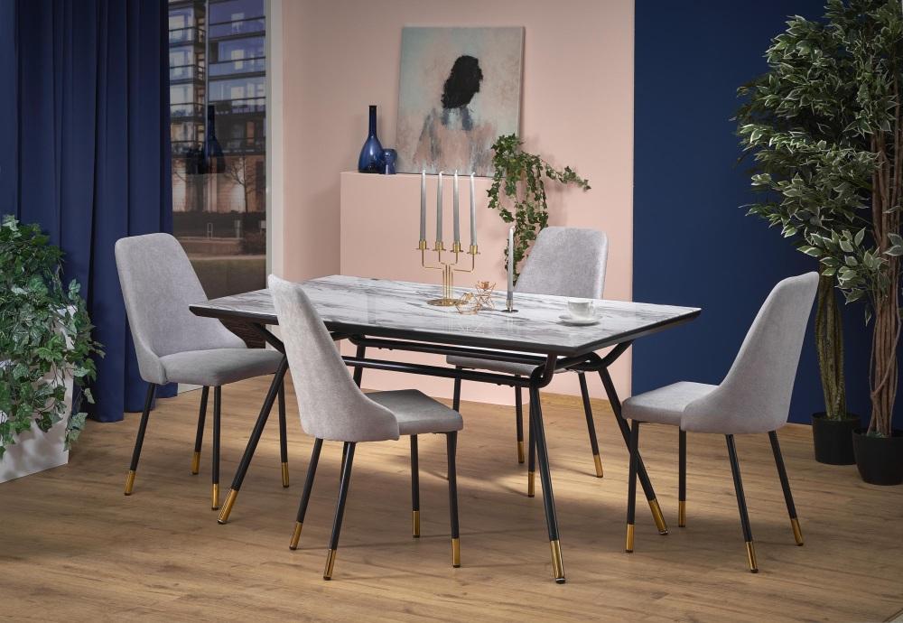 стулья, обитые дождем, элегантные домашние стулья, элегантные стулья для столовой