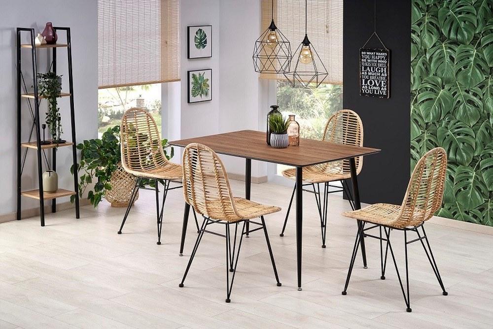 современные стулья из ротанга, стулья из ротанга в квартире, стулья из ротанга для квартиры