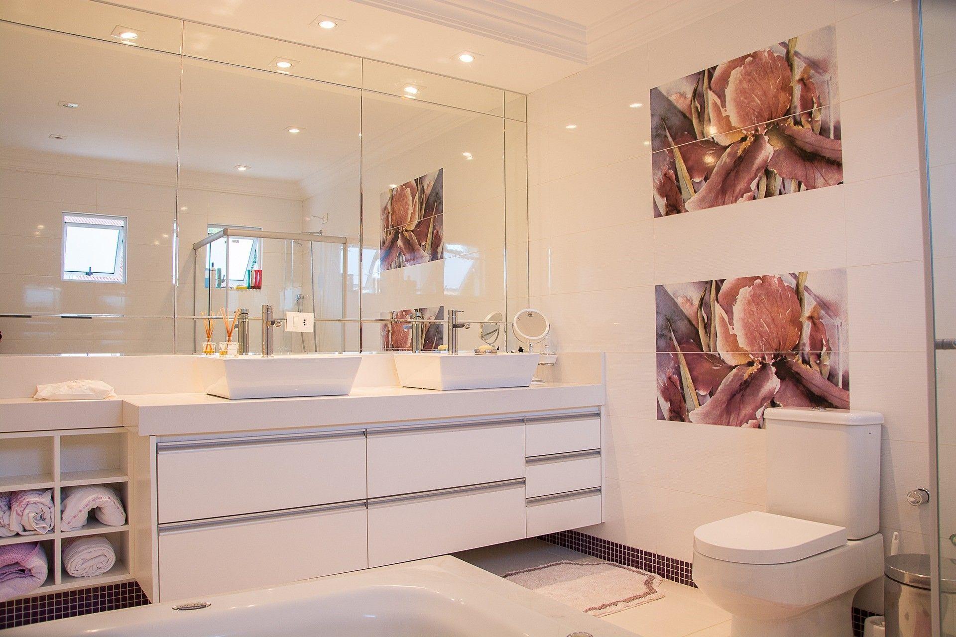 Mała łazienka Sposoby Na Optyczne Powiększenie Przestrzeni