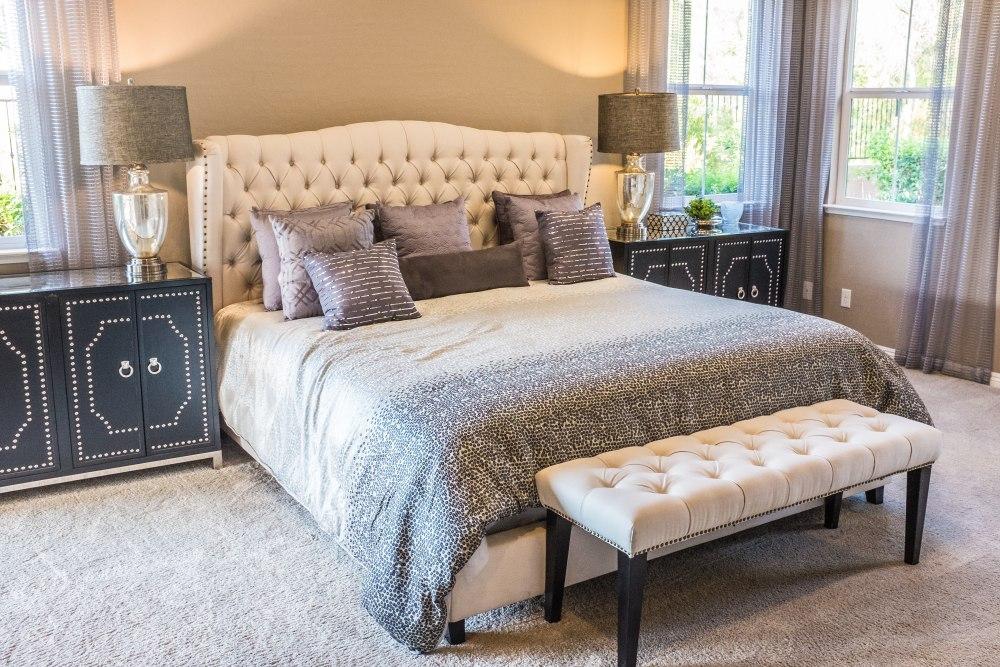 Аксессуары для спальни во французском стиле, спальня в парижском стиле, светильники для спальни во французском стиле