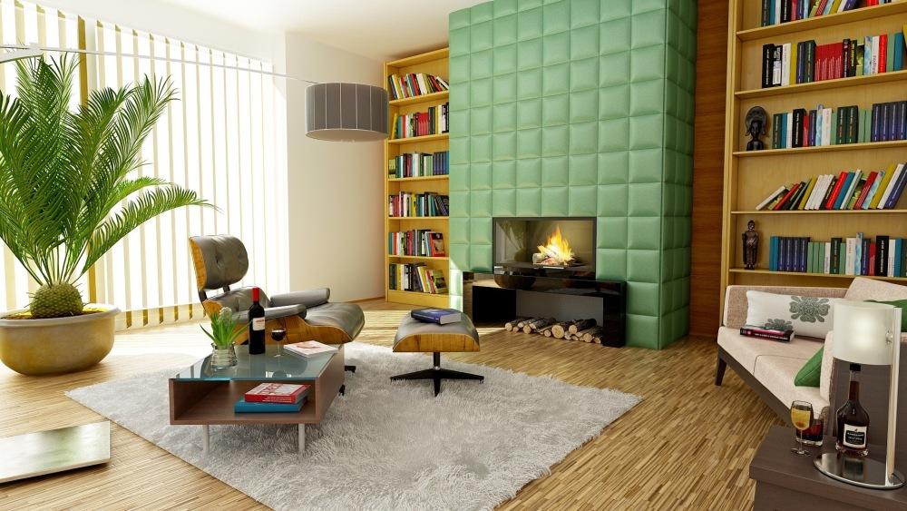 neomint в квартире, neomint в интерьерах, neomint в дизайне гостиной