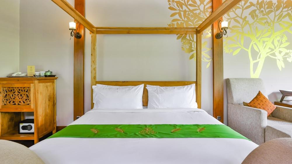 зеленая мебель для спальни, зеленая кровать для спальни, зеленый цвет мебели для спальни